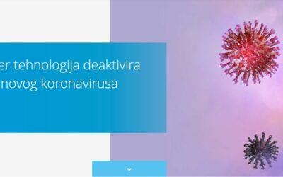 Daikin Streamer Tehnologija deaktivira 99% koronavirusa